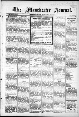 Primary view of object titled 'The Manchester Journal. (Manchester, Okla.), Vol. 18, No. 51, Ed. 1 Friday, May 26, 1911'.