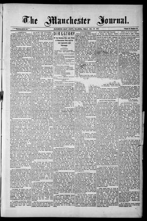 Primary view of object titled 'The Manchester Journal. (Manchester, Okla.), Vol. 15, No. 29, Ed. 1 Friday, December 20, 1907'.