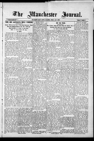 Primary view of object titled 'The Manchester Journal. (Manchester, Okla.), Vol. 17, No. 6, Ed. 1 Friday, July 9, 1909'.
