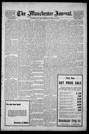 Primary view of The Manchester Journal. (Manchester, Okla. Terr.), Vol. 12, No. 32, Ed. 1 Friday, January 13, 1905