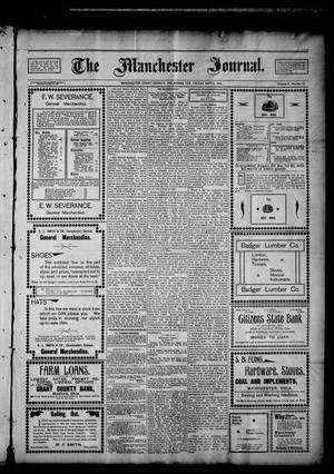 Primary view of object titled 'The Manchester Journal. (Manchester, Okla. Terr.), Vol. 9, No. 13, Ed. 1 Friday, September 6, 1901'.
