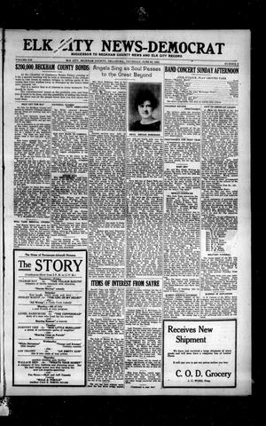 Primary view of object titled 'Elk City News-Democrat (Elk City, Okla.), Vol. 19, No. 9, Ed. 1 Thursday, June 30, 1921'.