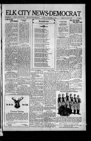 Primary view of object titled 'Elk City News-Democrat (Elk City, Okla.), Vol. 20, No. 33, Ed. 2 Thursday, December 14, 1922'.