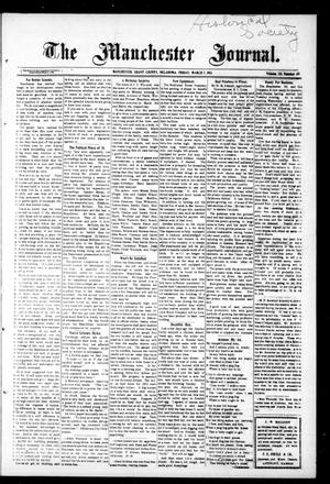 Primary view of object titled 'The Manchester Journal. (Manchester, Okla.), Vol. 20, No. 40, Ed. 1 Friday, March 7, 1913'.