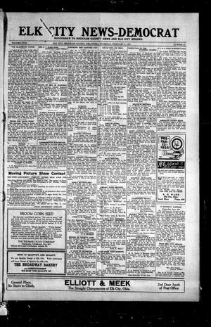 Primary view of object titled 'Elk City News-Democrat (Elk City, Okla.), Vol. 18, No. 40, Ed. 1 Thursday, February 3, 1921'.