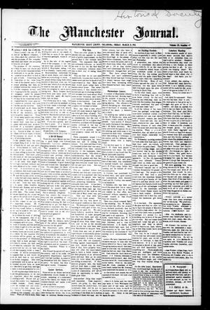 Primary view of object titled 'The Manchester Journal. (Manchester, Okla.), Vol. 20, No. 42, Ed. 1 Friday, March 21, 1913'.