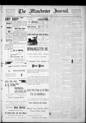 Primary view of object titled 'The Manchester Journal. (Manchester, Okla. Terr.), Vol. 1, No. 34, Ed. 1 Thursday, February 1, 1894'.