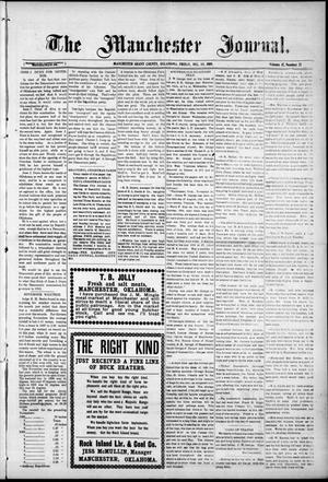 Primary view of object titled 'The Manchester Journal. (Manchester, Okla.), Vol. 17, No. 27, Ed. 1 Friday, December 10, 1909'.