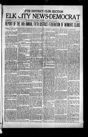 Primary view of object titled 'Elk City News-Democrat (Elk City, Okla.), Vol. 20, No. 1, Ed. 1 Thursday, May 4, 1922'.