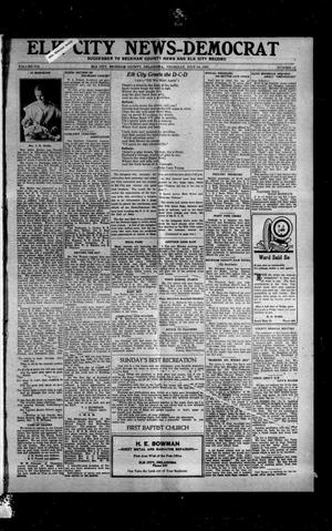 Primary view of object titled 'Elk City News-Democrat (Elk City, Okla.), Vol. 19, No. 11, Ed. 1 Thursday, July 14, 1921'.