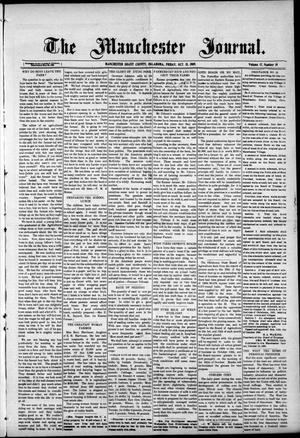 Primary view of object titled 'The Manchester Journal. (Manchester, Okla.), Vol. 17, No. 19, Ed. 1 Friday, October 15, 1909'.