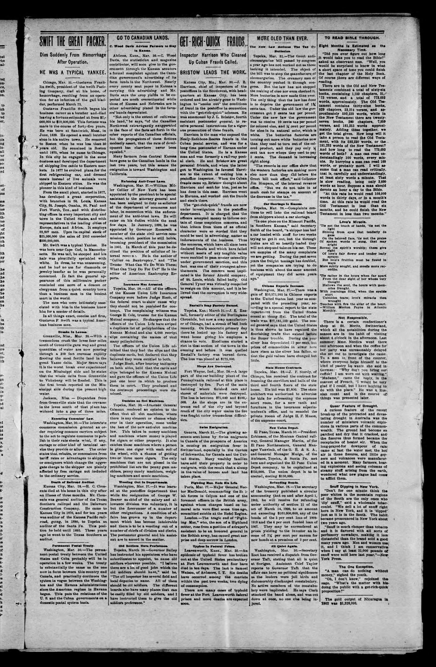 The Manchester Journal. (Manchester, Okla. Terr.), Vol. 10, No. 43, Ed. 1 Friday, April 3, 1903                                                                                                      [Sequence #]: 3 of 8