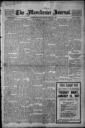 Primary view of object titled 'The Manchester Journal. (Manchester, Okla.), Vol. 14, No. 31, Ed. 1 Friday, January 4, 1907'.