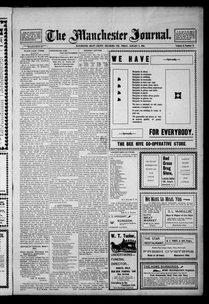 Primary view of object titled 'The Manchester Journal. (Manchester, Okla. Terr.), Vol. 11, No. 31, Ed. 1 Friday, January 8, 1904'.