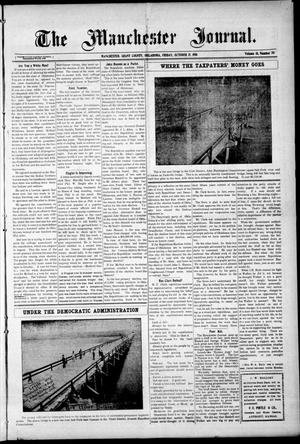 Primary view of object titled 'The Manchester Journal. (Manchester, Okla.), Vol. 18, No. 20, Ed. 1 Friday, October 21, 1910'.