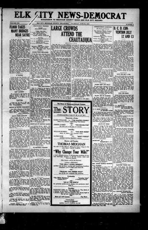 Primary view of object titled 'Elk City News-Democrat (Elk City, Okla.), Vol. 19, No. 8, Ed. 1 Thursday, June 23, 1921'.