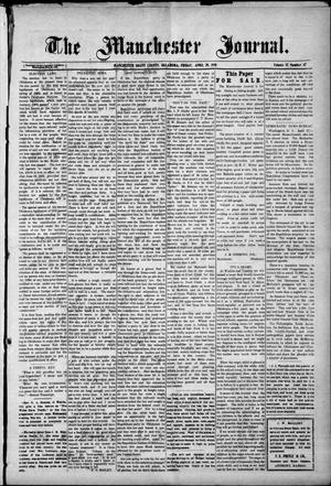 Primary view of object titled 'The Manchester Journal. (Manchester, Okla.), Vol. 17, No. 47, Ed. 1 Friday, April 29, 1910'.