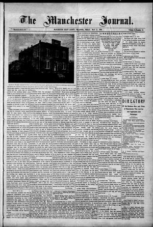 Primary view of object titled 'The Manchester Journal. (Manchester, Okla.), Vol. 15, No. 51, Ed. 1 Friday, May 22, 1908'.