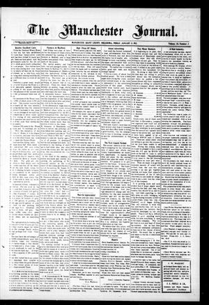 Primary view of object titled 'The Manchester Journal. (Manchester, Okla.), Vol. 20, No. 35, Ed. 1 Friday, January 31, 1913'.