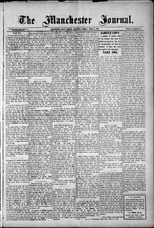 Primary view of object titled 'The Manchester Journal. (Manchester, Okla.), Vol. 17, No. 46, Ed. 1 Friday, April 22, 1910'.
