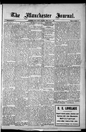 Primary view of object titled 'The Manchester Journal. (Manchester, Okla.), Vol. 16, No. 49, Ed. 1 Friday, May 7, 1909'.