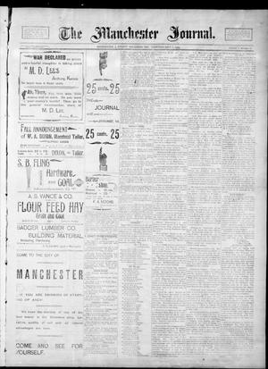 Primary view of object titled 'The Manchester Journal. (Manchester, Okla. Terr.), Vol. 2, No. 13, Ed. 1 Thursday, September 6, 1894'.