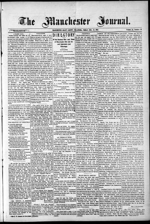Primary view of object titled 'The Manchester Journal. (Manchester, Okla.), Vol. 16, No. 30, Ed. 1 Friday, December 25, 1908'.