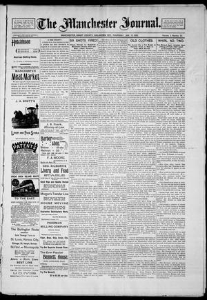 Primary view of object titled 'The Manchester Journal. (Manchester, Okla. Terr.), Vol. 2, No. 32, Ed. 1 Thursday, January 17, 1895'.