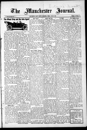 Primary view of object titled 'The Manchester Journal. (Manchester, Okla.), Vol. 19, No. 52, Ed. 1 Wednesday, May 31, 1911'.