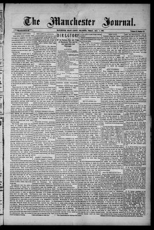 Primary view of object titled 'The Manchester Journal. (Manchester, Okla.), Vol. 15, No. 18, Ed. 1 Friday, October 4, 1907'.
