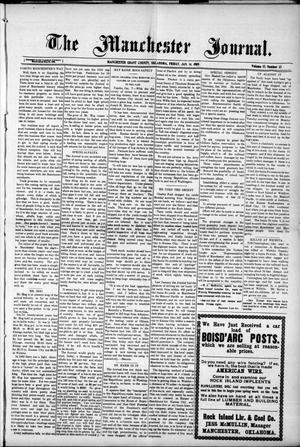 Primary view of object titled 'The Manchester Journal. (Manchester, Okla.), Vol. 17, No. 32, Ed. 1 Friday, January 14, 1910'.