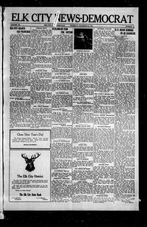 Primary view of object titled 'Elk City News-Democrat (Elk City, Okla.), Vol. 20, No. 35, Ed. 1 Thursday, December 28, 1922'.