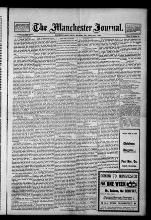 Primary view of object titled 'The Manchester Journal. (Manchester, Okla. Terr.), Vol. 12, No. 26, Ed. 1 Friday, December 2, 1904'.