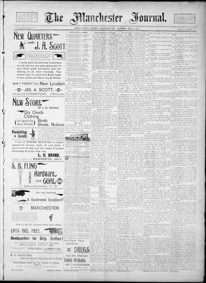 Primary view of object titled 'The Manchester Journal. (Manchester, Okla. Terr.), Vol. 1, No. 50, Ed. 1 Thursday, May 24, 1894'.