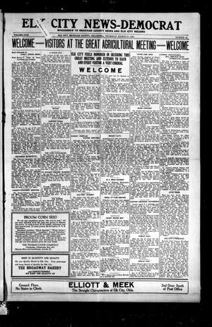 Primary view of object titled 'Elk City News-Democrat (Elk City, Okla.), Vol. 18, No. 48, Ed. 1 Thursday, March 31, 1921'.