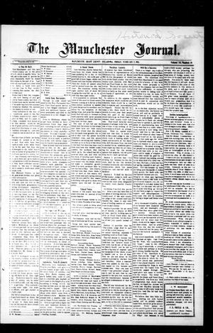 Primary view of object titled 'The Manchester Journal. (Manchester, Okla.), Vol. 20, No. 36, Ed. 1 Friday, February 7, 1913'.