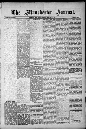 Primary view of object titled 'The Manchester Journal. (Manchester, Okla.), Vol. 18, No. 8, Ed. 1 Friday, July 29, 1910'.