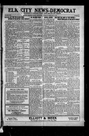 Primary view of object titled 'Elk City News-Democrat (Elk City, Okla.), Vol. 18, No. 43, Ed. 1 Thursday, February 24, 1921'.