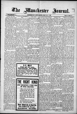 Primary view of object titled 'The Manchester Journal. (Manchester, Okla.), Vol. 17, No. 26, Ed. 1 Friday, December 3, 1909'.