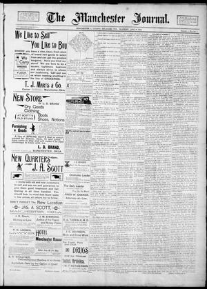 Primary view of object titled 'The Manchester Journal. (Manchester, Okla. Terr.), Vol. 2, No. 1, Ed. 1 Thursday, June 14, 1894'.