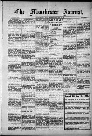 Primary view of object titled 'The Manchester Journal. (Manchester, Okla.), Vol. 16, No. 2, Ed. 1 Friday, June 12, 1908'.