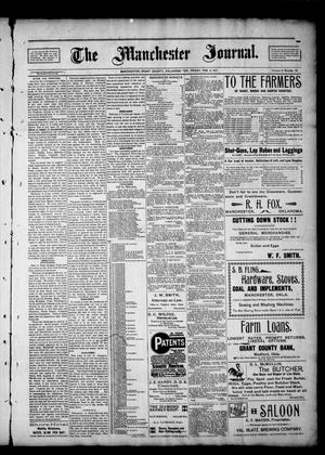 Primary view of object titled 'The Manchester Journal. (Manchester, Okla. Terr.), Vol. 8, No. 35, Ed. 1 Friday, February 8, 1901'.