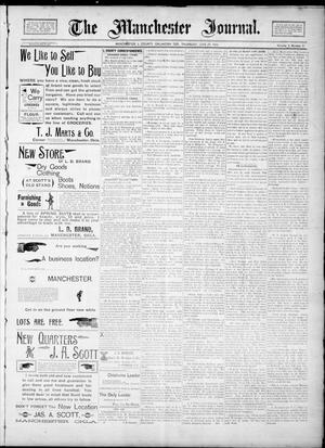 Primary view of object titled 'The Manchester Journal. (Manchester, Okla. Terr.), Vol. 2, No. 3, Ed. 1 Thursday, June 28, 1894'.