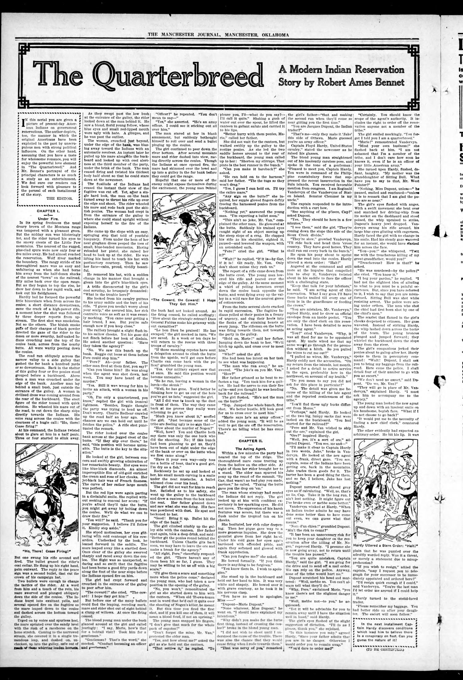 The Manchester Journal. (Manchester, Okla.), Vol. 24, No. 27, Ed. 1 Friday, December 1, 1916                                                                                                      [Sequence #]: 2 of 8