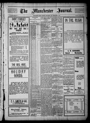 Primary view of object titled 'The Manchester Journal. (Manchester, Okla. Terr.), Vol. 9, No. 29, Ed. 1 Friday, December 27, 1901'.