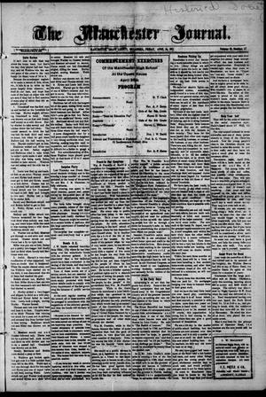 Primary view of object titled 'The Manchester Journal. (Manchester, Okla.), Vol. 19, No. 47, Ed. 1 Wednesday, April 26, 1911'.