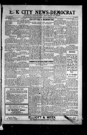 Primary view of object titled 'Elk City News-Democrat (Elk City, Okla.), Vol. 18, No. 41, Ed. 1 Thursday, February 10, 1921'.