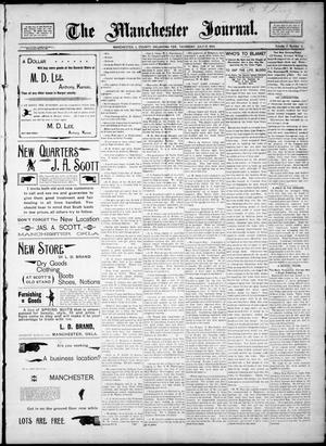 Primary view of object titled 'The Manchester Journal. (Manchester, Okla. Terr.), Vol. 2, No. 6, Ed. 1 Thursday, July 19, 1894'.