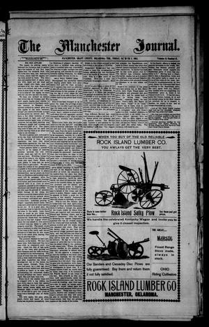 Primary view of object titled 'The Manchester Journal. (Manchester, Okla. Terr.), Vol. 11, No. 17, Ed. 1 Friday, October 2, 1903'.