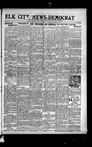 Primary view of object titled 'Elk City News-Democrat (Elk City, Okla.), Vol. 19, No. 23, Ed. 1 Thursday, October 6, 1921'.